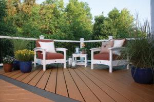 Capped Composite Decking & Railing