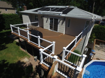 Timbertech Tropical Decking & Timbertech Radiance Railing