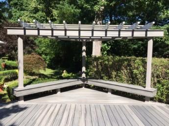 Bench and Trellis Escape