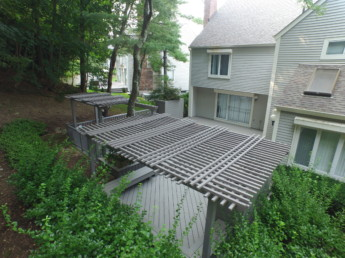 Trex Transcend Deck with Trellis