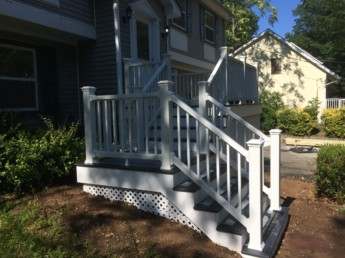 Trex Select White Railing
