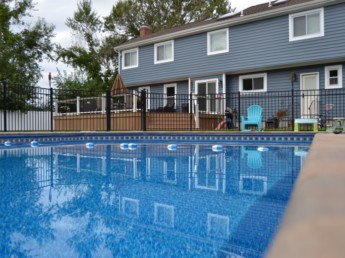 Pool Patio and House Deck