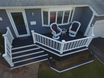 Trex Select Winchester Gray Porch