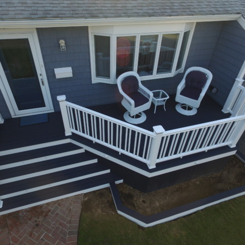 Trex Select Winchester Gray Porch