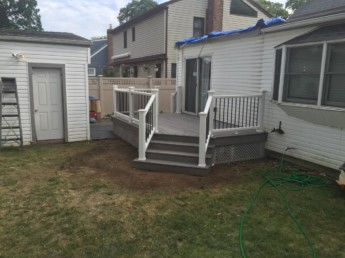 Trex Deck and Railings