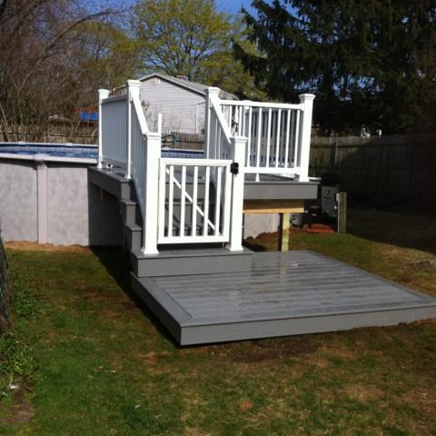 Trex Select Pool Deck