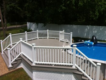 Trex Transcend Classic White Railings