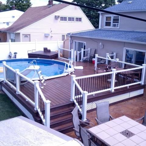 Trex Transcend Pool Deck