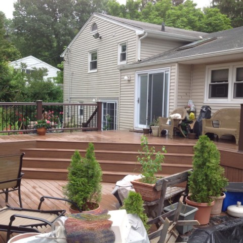 Timbertech Decking and Radiance Railing