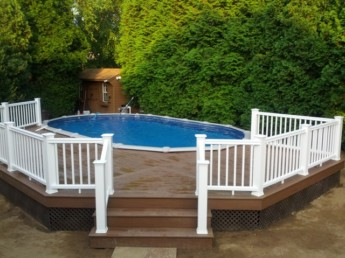 Timbertech Pool Deck