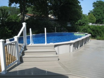 Ground Level Pool Deck