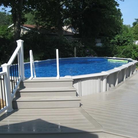 Ground Level Pool Deck