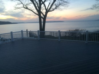 Azec Decking and Timbertech Railings