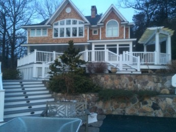 Azec Deck with Timberetch Radiance Railings