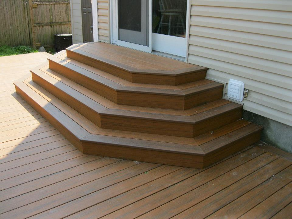 How To Build Octagon Deck Stairs
