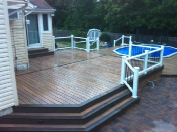 Pool Deck, House Deck, Pavers