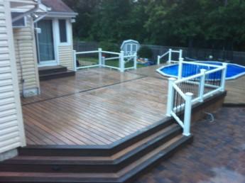 Pool Deck, House Deck, Pavers