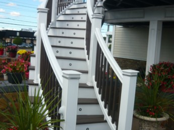 Showroom Curved Staircase