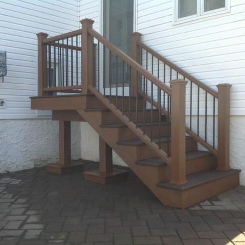 Trex Exit Staircase