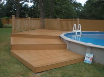 Gradual Platforms Pool Deck